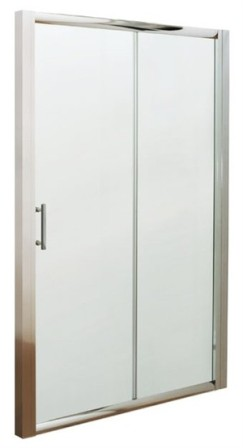 ULTRA PREMIER BATHROOM COLLECTION PACIFIC POLISHED CHROME 1 SLIDING SHOWER DOOR 1400mm, AQSL14