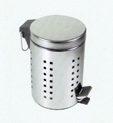 CLEARANCE MILLER BEEM POLISHED STAINLESS STEEL PEDAL BIN, 27501