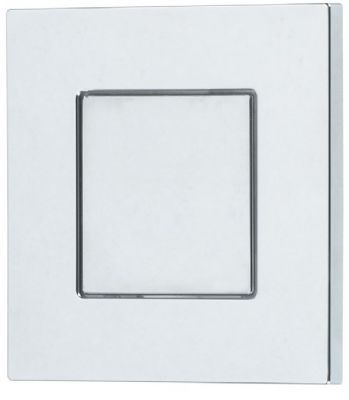 CLEARANCE THOMAS DUDLEY CHROME PIAZZA VANTAGE/MINIFLO SINGLE FLUSH 73.5mm SQUARE PUSH BUTTON, 325277