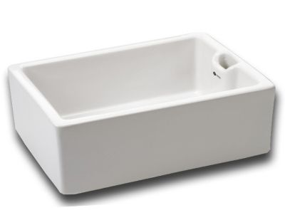 CARRON PHOENIX BELFAST 110 WHITE CERAMIC SINK, 110