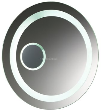 HUDSON REED ORACLE BATHROOM ILLUMINATED ROUND BACKLIT MIRROR with MOTION SENSOR TECHNOLOGY, LQ018