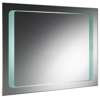 HUDSON REED INSIGHT BATHROOM ILLUMINATED RECTANGULAR BACKLIT MIRROR with MOTION SENSOR TECHNOLOGY & DE-MISTER PAD, LQ019