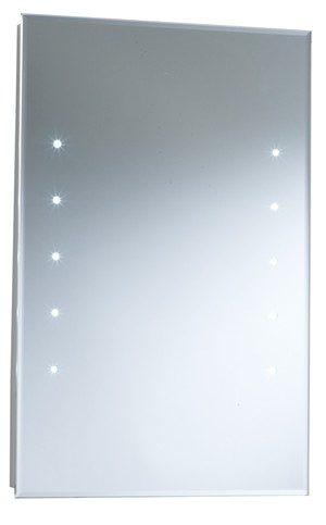 HUDSON REED ALCINA BATHROOM ILLUMINATED RECTANGULAR 'LED' TOUCH SENSOR BACKLIT MIRROR, LQ347
