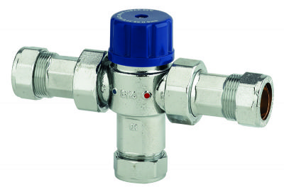 THOMAS DUDLEY 22mm THERMOSTATIC MIXING VALVE, 324552