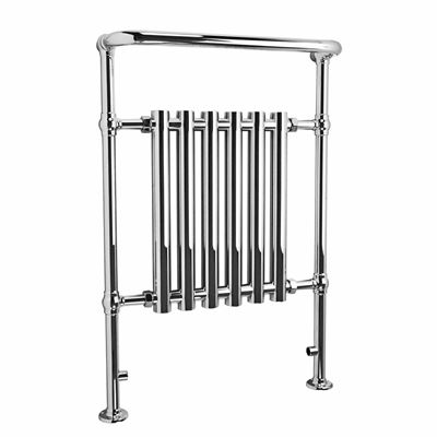 KIRBY SEBASTIAN VICTORIA PREMIUM TRADITIONAL CHROME BATHROOM TRADITIONAL TOWEL RAIL/WARMER, RT03