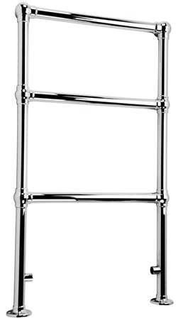 KIRBY SEBASTIAN VICTORIA PREMIUM RETRO CHROME BATHROOM TRADITIONAL TOWEL RAIL/WARMER, RT05