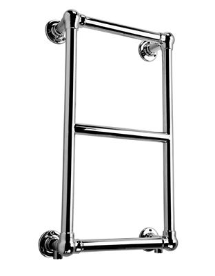 KIRBY SEBASTIAN VICTORIA PREMIUM RETRO CHROME BATHROOM TRADITIONAL WALL MOUNTED TOWEL RAIL/WARMER, RT08