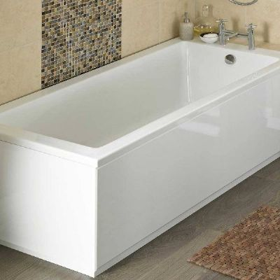 HUDSON REED HIGH GLOSS WHITE 1800mm FRONT PANEL, BPR107