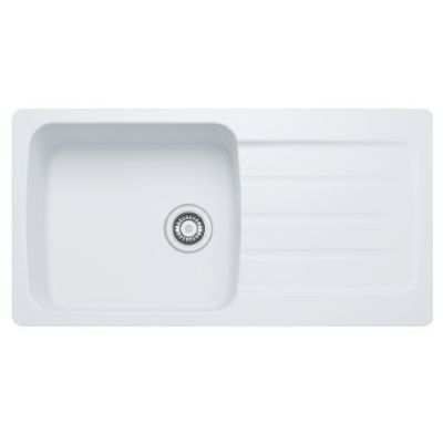 SPECIAL OFFER CARRON PHOENIX COLUMBA 100 INSET ARCTIC WHITE SYNTHETIC SINK, 100