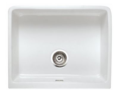 RAK GOURMET SINK 2 - BELFAST STYLE WHITE SINGLE BOWL CERAMIC SINK, GOSINK2